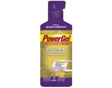 PowerBar gel blackcurrant+caffeine