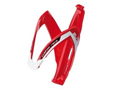 Elite Custom Race bottle cage red/white