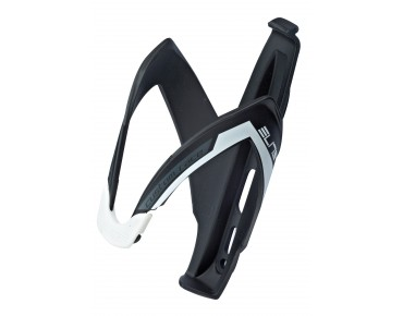 Elite Custom Race bottle cage schwarz/weiß matt