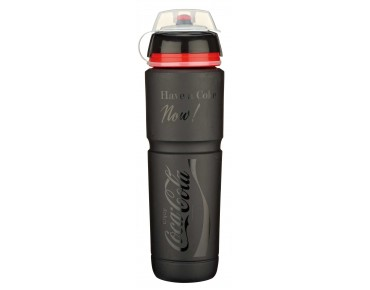 Elite Coca-Cola drinks bottle schwarz