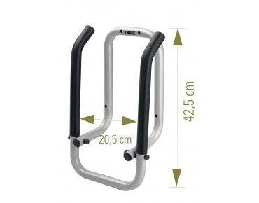 Thule 9771 wall holder for tow bar carriers