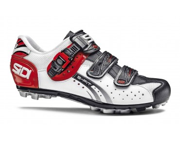 SIDI EAGLE 5 FIT MTB shoes white/black/red