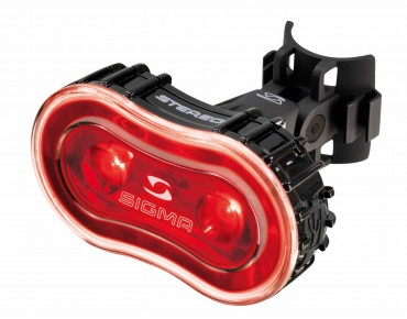 Sigma STEREO LED rear light black