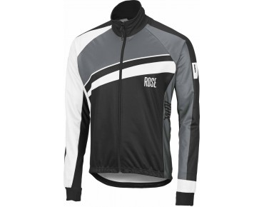 ROSE PRO II WINDTEX thermal jacket black/white/grey