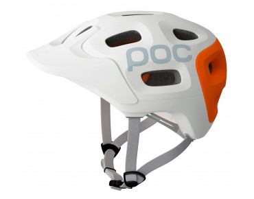POC TRABEC RACE Helm white/orange
