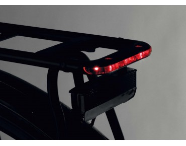 Racktime I-Valo Light rear luggage rack black