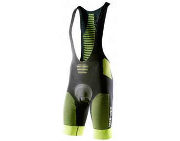 X BIONIC EFFEKTOR BIKING bib shorts black/yellow