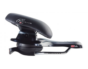 SQlab 600 active saddle black