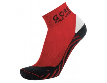 GORE BIKE WEAR CONTEST socks red/black