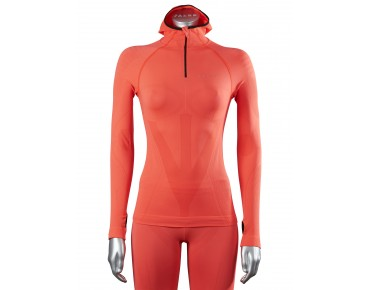 FALKE ATHLETIC women's hoody neon red