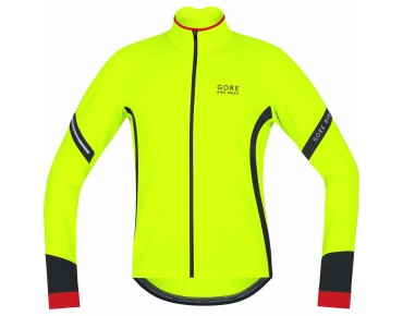 GORE BIKE WEAR POWER 2.0 - maglia maniche lunghe termica neon/black