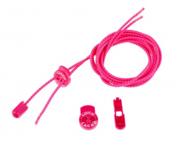 Lock Laces lacing system (1 pair) pink