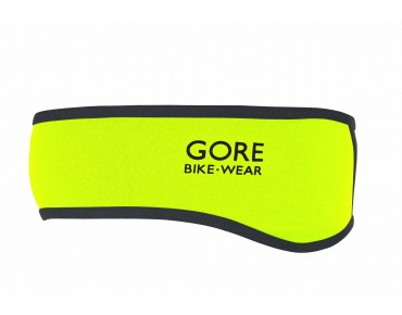 GORE BIKE WEAR UNIVERSAL GWS Stirnband neon yellow/black