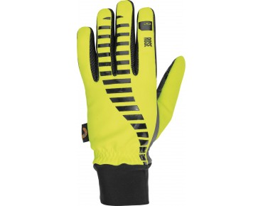ROSE Winter Handschuhe ROAD HYTEX WARM GEL yellow fluo/black