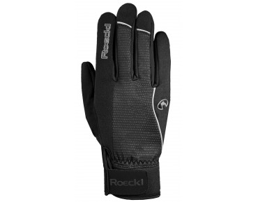 ROECKL RABAL WINDSTOPPER - guanti soft shell invernali black