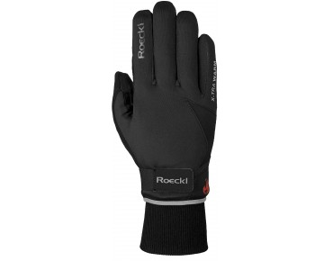 ROECKL VREDEN soft shell WINDSTOPPER - guanti invernali black