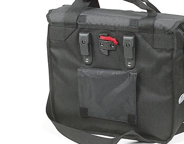 NORCO DALTON city bag with KLICKfix vario hooks black