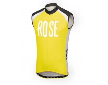 ROSE LINIE 14 Trikot ärmellos black/lime