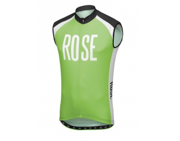 ROSE LINIE 14 Trikot ärmellos black/green