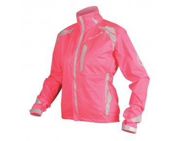 ENDURA LUMINITE II waterproof jacket for women hi-viz pink