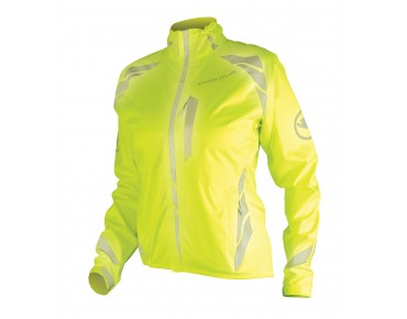 ENDURA LUMINITE II waterproof jacket for women hi-viz yellow