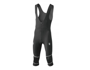 ROSE 3/4-Thermo-Trägerhose WIND black