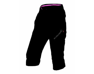ENDURA HUMMVEE LITE women's 3/4-length bike trousers black