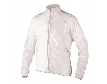 ENDURA ADRENALIN RACE waterproof jacket translucent white
