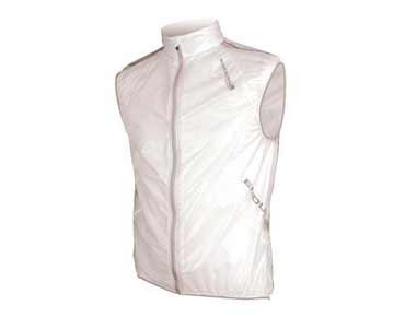ENDURA ADRENALIN RACE vest translucent white