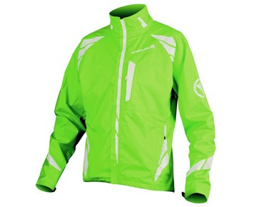 ENDURA LUMINITE II waterproof jacket neon green