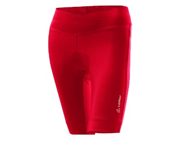 Löffler TOUR women's cycling shorts red