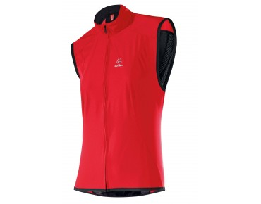 Löffler WINDSTOPPER ACTIVE SHELL Damen Weste rot