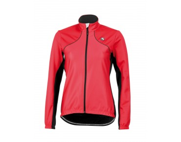 Giordana FUSION 13 WINDTEX women's thermal jacket hibiscus orange