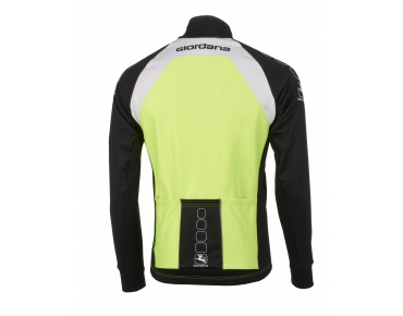Giordana SILVERLINE WINDTEX thermal jacket fluo yellow