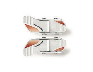 GAERNE 2D MICRO ratchet buckle white