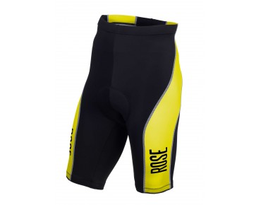 ROSE DESIGN III fietsbroek black/lime