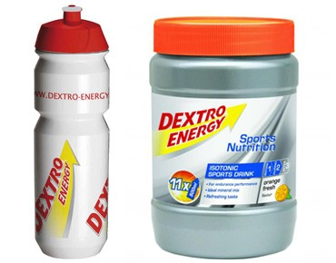 Dextro Energy Isotonic Sports Drink set Orange Fresh