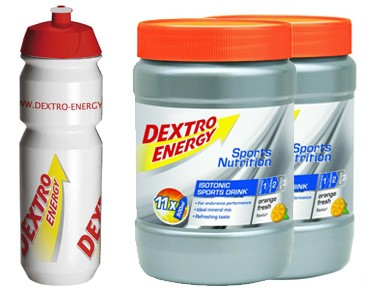 Dextro Energy Isotonic Sports Drink stock set orange fresh