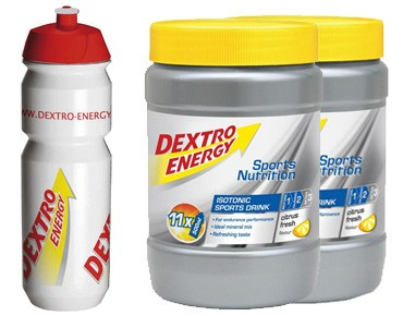 Dextro Energy Isotonic Sports Drink stock set citrus fresh