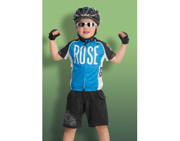 ROSE LINIE 14 Kinder Trikot black/sky