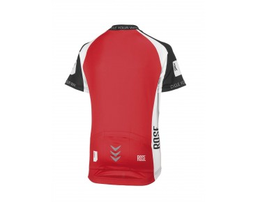 ROSE LINIE 14 kinderjersey black/red