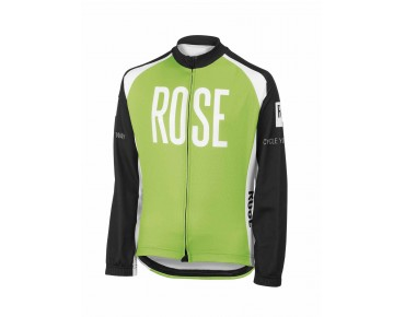 ROSE LINIE 14 Kinder Thermotrikot black/green