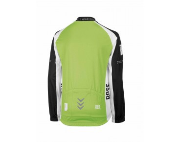 ROSE children's thermal long-sleeved jersey black/green