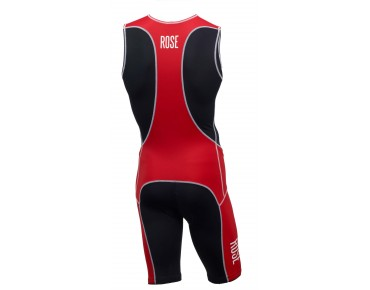 ROSE TRI-SUIT I body black/red
