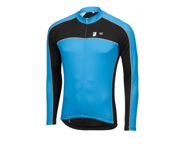 ROSE DESIGN III long-sleeved jersey black/sky