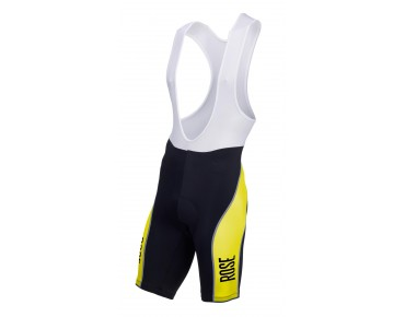 ROSE DESIGN III bib shorts black/lime
