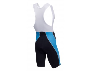 ROSE DESIGN III bib shorts black/sky