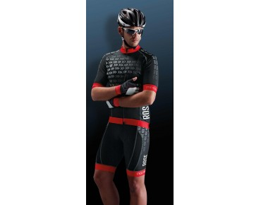 ROSE RACE PRO Trikot black/red