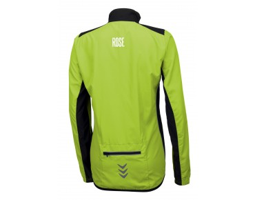 ROSE PRO FIBRE women's cycling jacket green/black