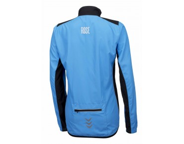ROSE PRO FIBRE women's cycling jacket sky/black